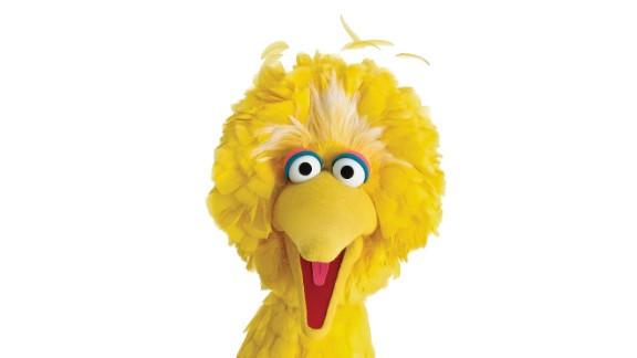 Sesame Street's original star Big Bird has led the show since its first episode in 1969. The 8-foot Muppet often doesn't understand what's going on but sets the tone for the show by never hesitating to find out.