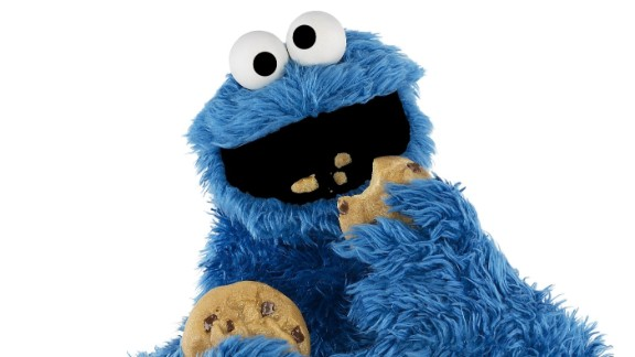 """Om nom nom nom"" -- Cookie Monster's voracious appetite for his favorite chocolate chip treats have endeared him to viewers since ""Sesame Street's"" first season. He's even managed to fit in teaching some important lessons: Thanks to him, generations of kids have grown up knowing that ""C"" is for cookie."
