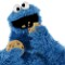 sesame street muppet cookie monster