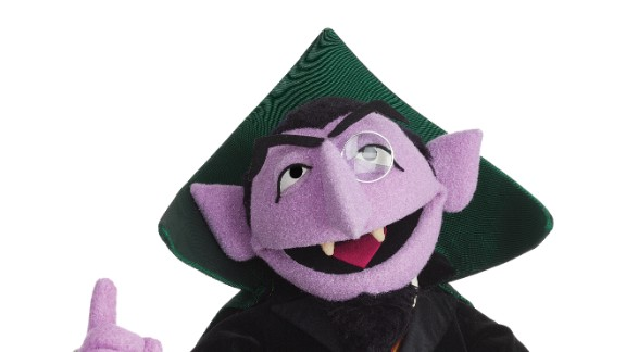 "Nothing can interrupt the Count when he's counting. Whether counting from one to 10 or up to a billion (as he did in 2013 to celebrate ""Sesame Street's"" 1 billion YouTube views), the Count is happiest with numbers. He can now count over 40 years of appearances on ""Sesame Street"" since his debut in 1972."