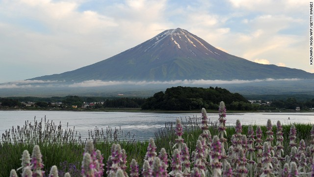 CNN joins Google to map Mount Fuji