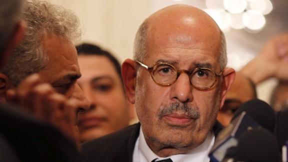 Nobel Prize laureate Mohamed ElBaradei AFP/Getty Images