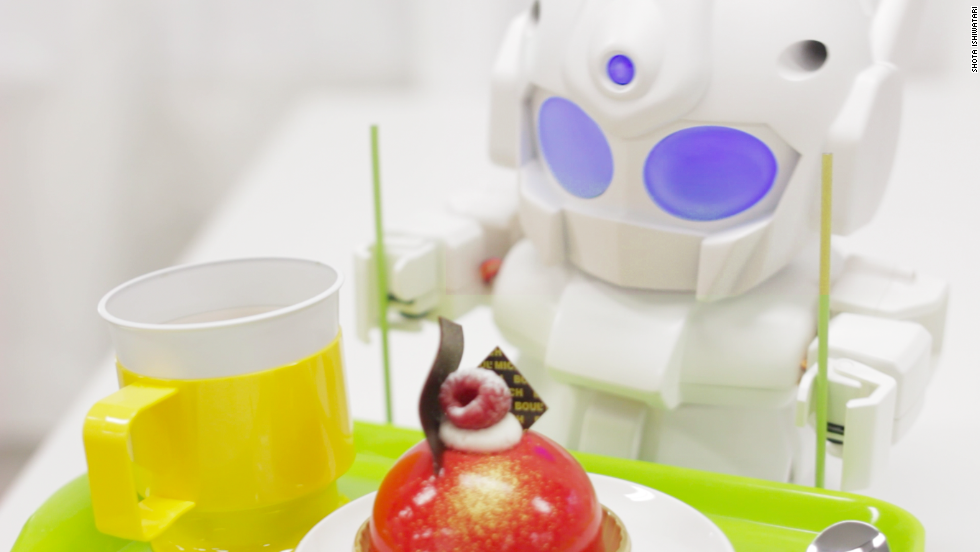 Ishiwatari wants all of his creations to offer a 'cute' spin on technology, and to bridge the gap between the Raspberry Pi system and robotics.