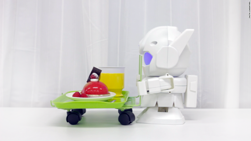 Rapiro can be fitted with a webcam should owners wish to record a day in the life of a tiny humanoid robot. It can be connected to a dongle and controlled by a smartphone.