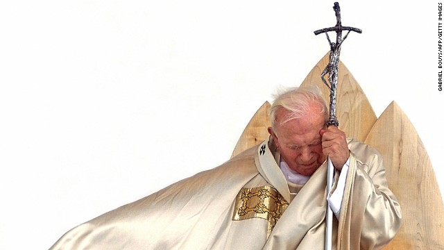 2011: John Paul II's path to sainthood