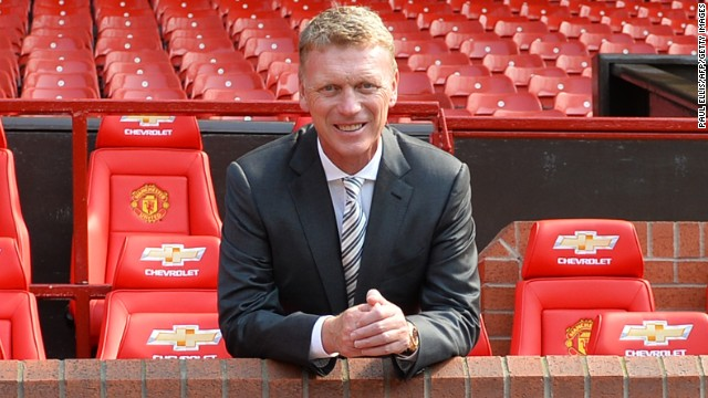 Scotland's David Moyes managed Everton between 2002 and 2013.