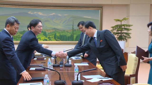 Koreas meet on joint industrial complex