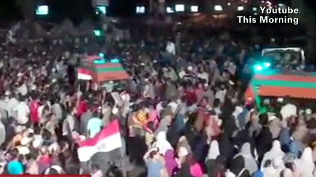 Unrest in Egypt escalates