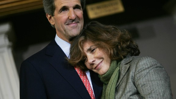 The Kerry family is grateful for the outpouring of support it has received but asked for privacy, according to a released statement.