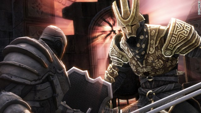 """Infinity Blade II,"" the popular fantasy roleplaying game exclusive to Apple devices, was among apps offered for free on Monday."