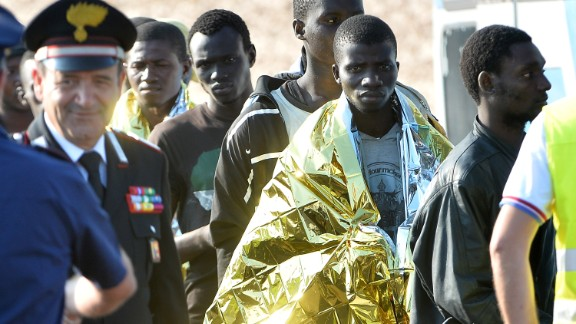 Lampedusa is just 70.2 miles from Tunisia and has been the first point of entry to Europe for more than 200,000 refugees and irregular migrants who have passed through the island since 1999, according to the U.N.'s refugee agency.