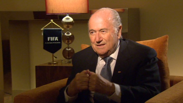 Blatter pledges help for Palestinians
