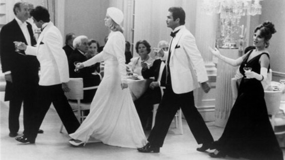 """""""At Long Last Love"""" (1975): Peter Bogdanovich's musical was intended as a throwback to 1930s Fred Astaire-Ginger Rogers comedies, complete with Art Deco set design, formally attired swells and the rich refrains of Cole Porter. But a huge budget, gossip about Bogdanovich and leading lady Cybill Shepherd and Bogdanovich's admittedly poor edit doomed the film. It's just been released on Blu-ray and earned praise. The film starred Duilio Del Prete, from left, Burt Reynolds, Shepherd and Madeline Kahn."""