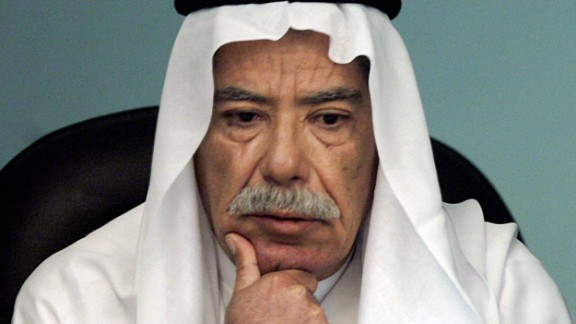 [File photo] Sabawi Ibrahim giving evidence during Saddam