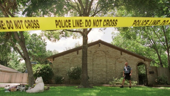 The five Yates children were drowned one by one in a bathtub of their Clear Lake, Texas, home on June 20, 2001.