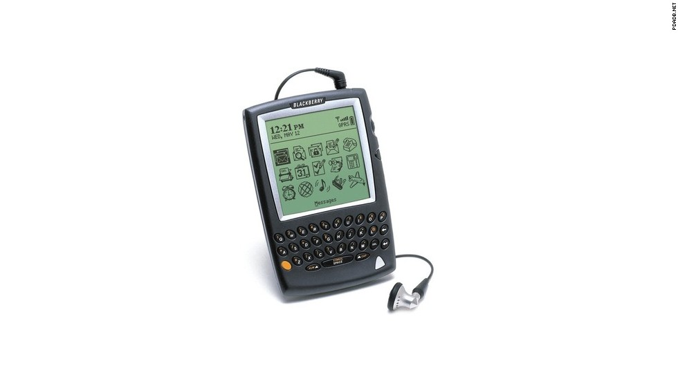 It wasn't until 2002 that the BlackBerry was actually a phone.  That's right, the 5810 was the first model that allowed you to make calls. It came with a caveat: no built-in microphone or speaker meant you had to plug in a headset to use the feature.