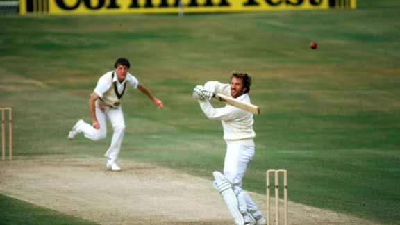 The 1981 series was named 'Botham's Ashes' after England's Ian Botham produced a heroic display to inspire a 3-1 series win. On the cusp of going 2-0 down, Botham hit 149 before Bob Willis claimed 8-43 to seal victory at Headingley, Leeds.