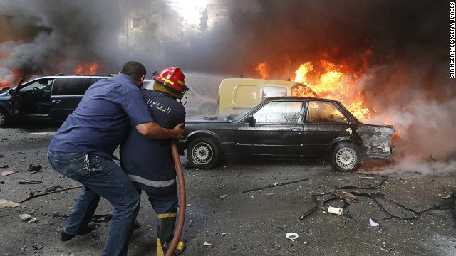 July: Massive car bomb in Beirut