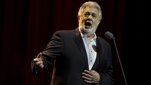 Placido Domingo calls allegations of sexual harassment against him