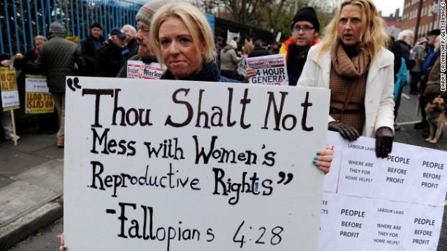 Abortion vote planned in Ireland