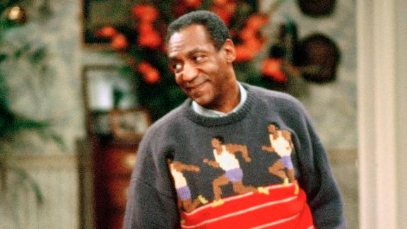 One favorite Cosby sweater, according to fans, is this one featuring knitted runners. It also represents one of Cosby's greatest passions, running track.