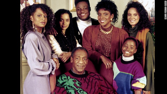 "Phylicia Rashad, third from right, played Clair Hanks Huxtable on ""The Cosby Show."""