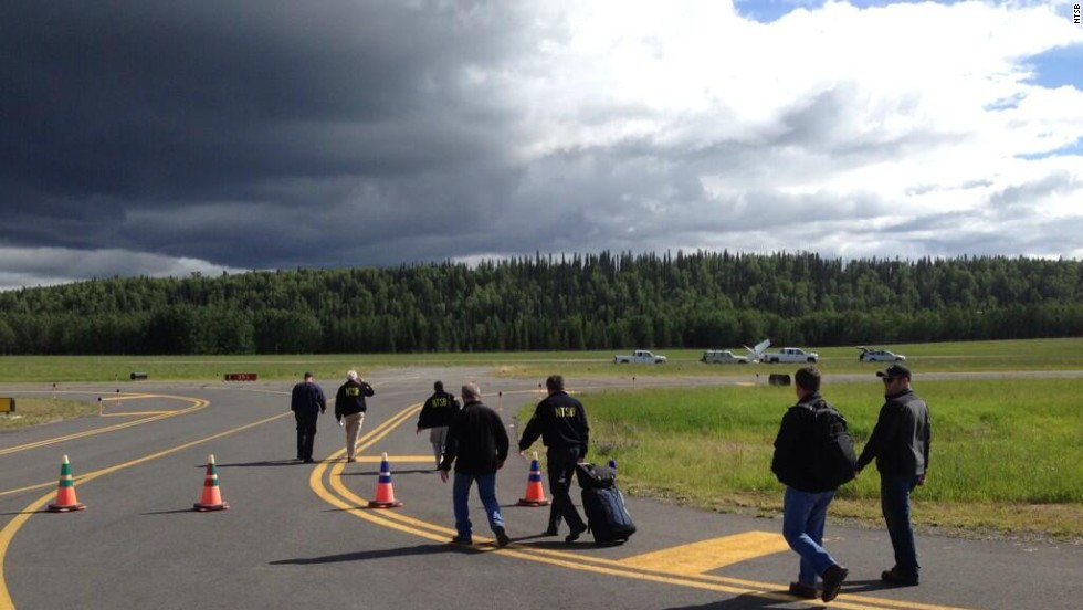 The NTSB said the plane's propeller showed evidence of rotation at the time of impact.
