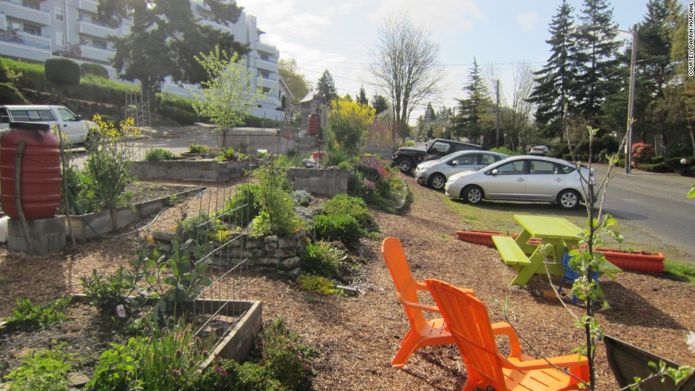 Seattle's municipal leaders are seeking ways to bring more fresh, locally grown produce to the public, like this mature garden pictured here.