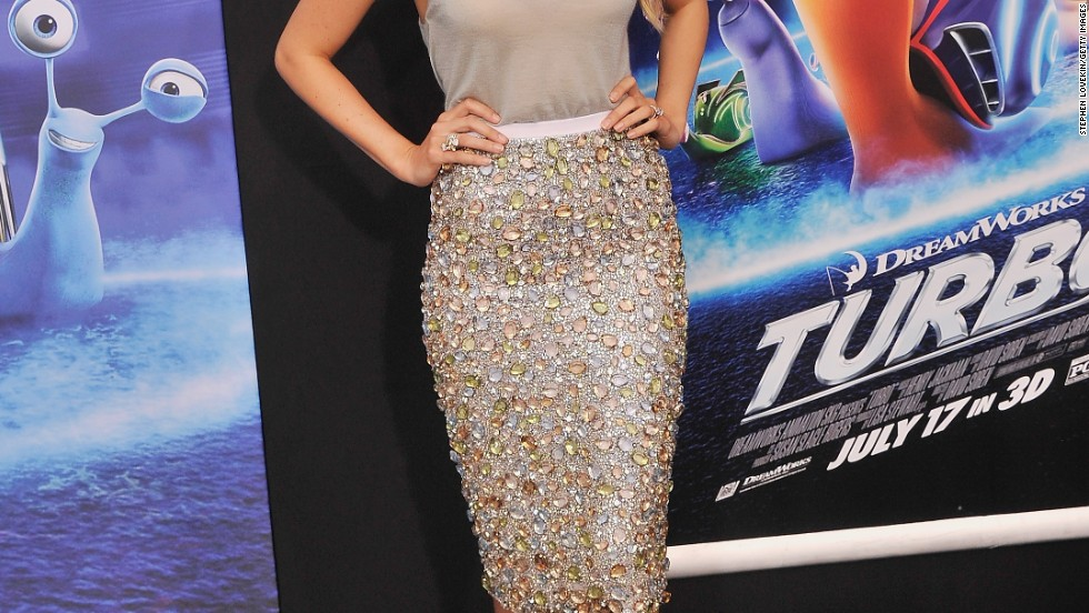 "Blake Lively attends the New York premiere of her husband Ryan Reynolds' new movie, ""Turbo,"" on July 9."
