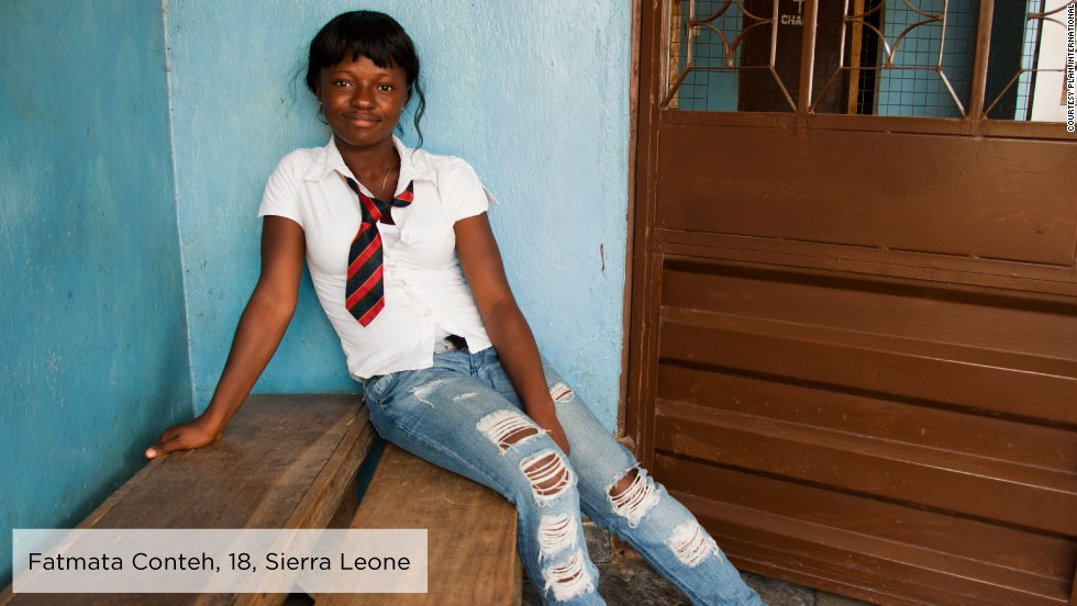 "Fatmata, an 18-year-old high school student from rural Sierra Leone, became passionate about issues from child marriage to domestic violence and street children after taking part in <a href=""http://plan-international.org/"" target=""_blank"">Plan International</a>'s Girls Making Media project.<br /><br />She now presents a program on a local community radio station and has given talks at her school on corporal punishment and gender-based violence in schools.<br /><br />Fatmata recently shared her story and ideas at the 56th session of the Commission on the Status of Women."