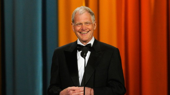 David Letterman spent some time living in his truck before he struck it big as a comic and late-night talk show host.