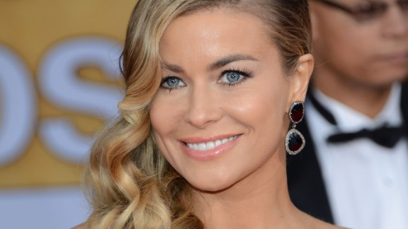 """Actress/singer/dancer Carmen Electra was homeless in Hollywood in her early 20s. She recalled being stranded on a park bench in the Valley, armed only with a knife, a pager, Versace heels and some change in her pocket. """"I remember crying and watching cars drive by and thinking, 'I would do anything just to be able to get from here to there -- to get down the block!' I was, like, 'I can't walk anymore.'"""""""