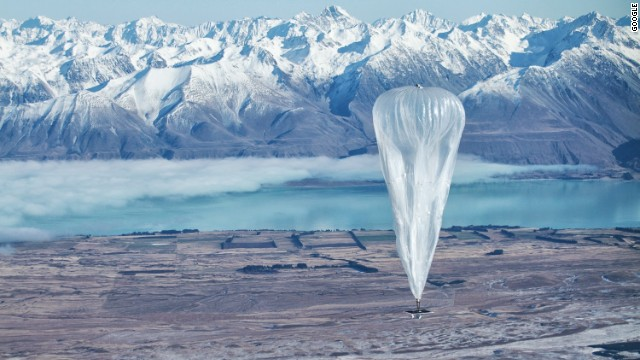 Google's 'Project Loon' not all hot air
