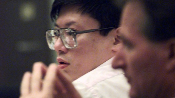 Charles Ng, seen here, and accomplice Leonard Lake tortured, killed and buried 11 people in northern California between 1984 and 1985. After the men were arrested for shoplifting, police found bullets and a silencer in their car and took them into the police station for questioning. Lake killed himself there with a cyanide pill. Ng was later sentenced to death.