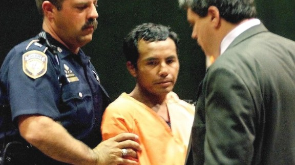Angel Maturino Resendez, also known as the Railway Killer, was a drifter from Mexico. During the 1990s, he would rob and kill his victims near railroad tracks on both sides of the border and then hop rail cars to escape. Resendez was executed in 2006.