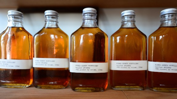 American spirits are also making a comeback thanks to growing interest in moonshine, craft whiskey and micro-distilleries.