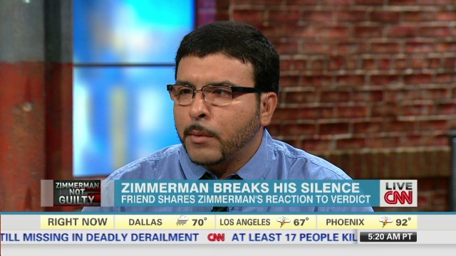 Friend: George Zimmerman not a racist