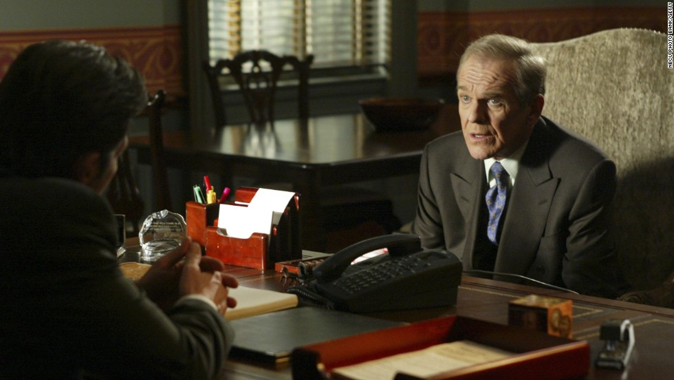 "When John Spencer died of a heart attack in 2005, his character on ""The West Wing,"" Leo McGarry, suffered the same fate."