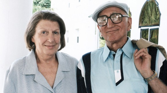 """Nancy Marchand won over critics and fans alike as Tony's cantankerous mother Livia Soprano. When the actress, shown here with """"Sopranos"""" co-star Dominic Chianese, died from emphysema and lung cancer in 2000, her character's death also was written into the script."""