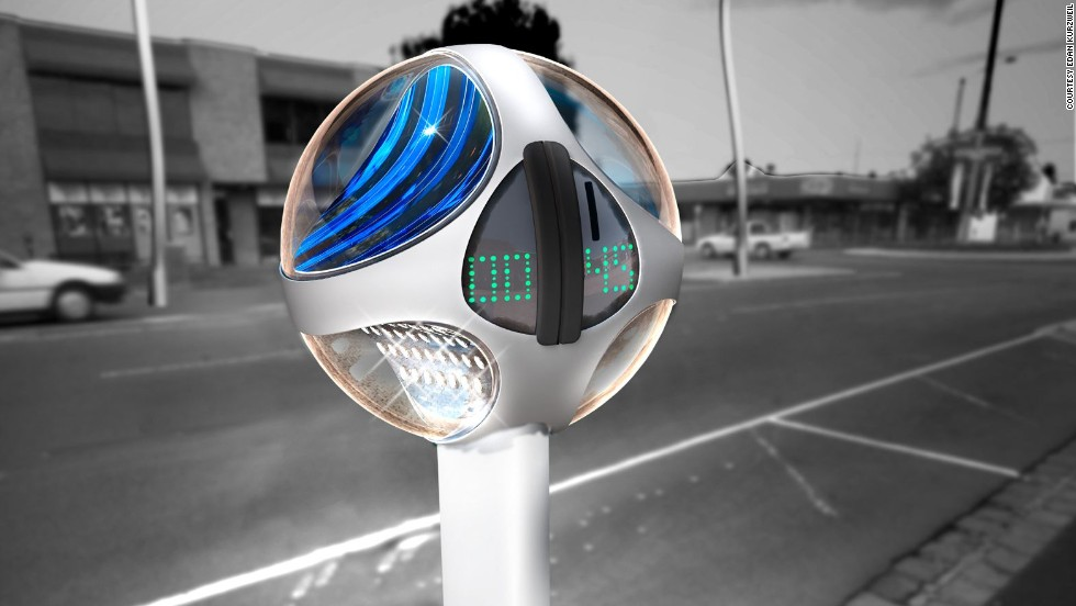 Other energy-efficient streetlight concepts include Edan Kurzweil's Night Owl, a solar powered LED streetlight that doubles up as a parking meter.