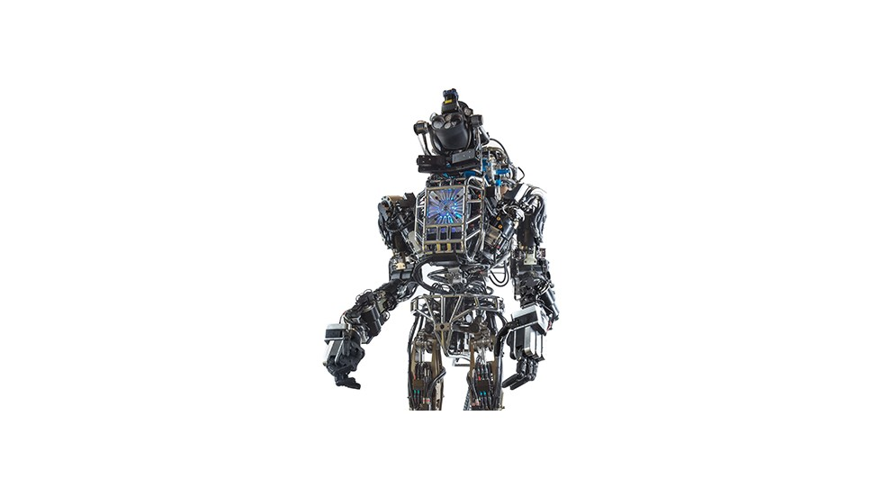 The ATLAS humanoid robot will be used by seven competing teams in a DARPA contest to create disaster response robots. At six-foot-two and 330 pounds, this hulking first responder has all the qualities you'd want in the field after a disaster:  strength, endurance and calm under pressure.