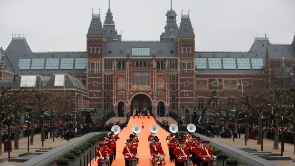 Rijksmuseum in Amsterdam, Netherlands, has recently completed a 10-year renovation project.