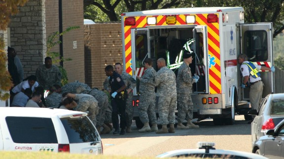 A military jury convicted Army Maj. Nidal Hasan of 13 counts of premeditated murder for a November 2009 shooting rampage at Fort Hood, Texas. Thirteen people died and 32 were injured.