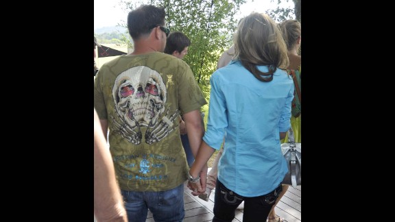 Jon Gosselin was known to be a fan of the Ed Hardy line, and was spotted with Christian Audigier shortly after news broke of his alleged affair with Hailey Glassman.