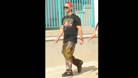 """Ed Hardy clothing was frequently seen on Jersey Shore cast members like Mike """"The Situation"""" Sorrentino. The brand was thought to be a popular style choice within self-proclaimed """"guido"""" culture."""