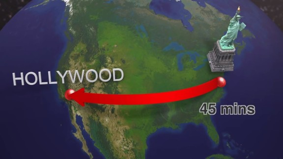 As crazy as it sounds, if moving at their projected speeds the capsules could travel from New York to Southern California -- a journey of some 3,000 miles -- in about 45 minutes. Musk says he will publish an alpha, or early design, of the prototype system next month.