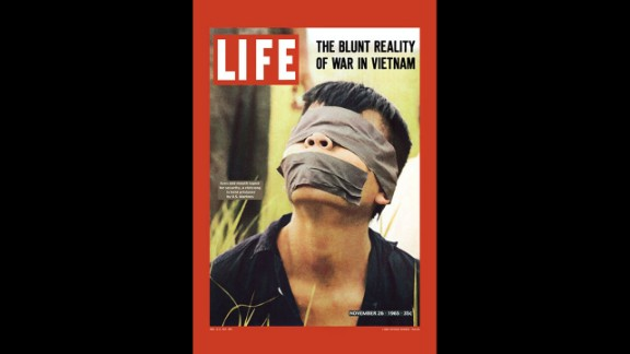 "The media played a large role in the American public's perception of the Vietnam War, and Life magazine's November 26, 1965, cover stirred the pot more by showing the ""blunt reality of war."""