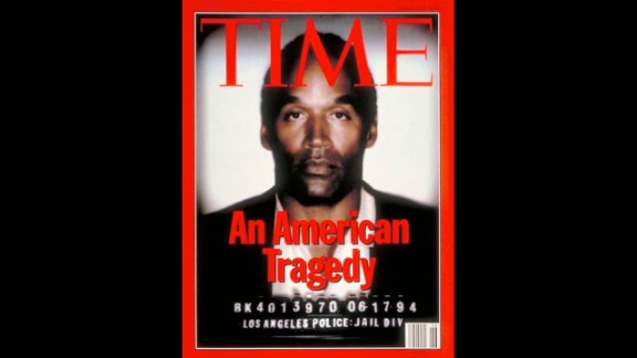Time's June 27, 1994, cover featuring O.J. Simpson's mugshot was widely criticized because the image had been darkened compared with other magazine covers that had used the same image. The cover was viewed as racist because it portrayed Simpson as a darker-skinned man and gave him a more menacing demeanor. Time's managing editor at the time, James R. Gaines, released a statement saying that neither racial implications nor imputation of guilt were intended.