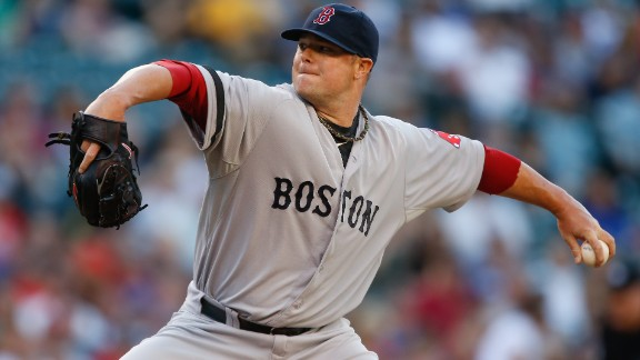 During his rookie season in 2006, Jon Lester was diagnosed with anaplastic large cell lymphoma, a rare form of blood cancer. A year after his diagnosis, Lester was back on the mound, winning Game 4 of the World Series to clinch the championship. Read more.