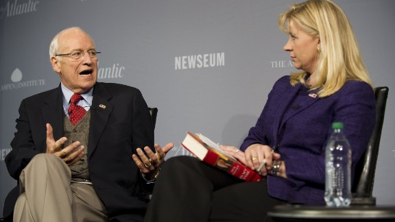 Liz Cheney, daughter of former Vice President Dick Cheney, announced that she was running for Senate in Wyoming in 2014. Her bid set up an intra-GOP battle with U.S. Sen. Mike Enzi, a three-time incumbent. She dropped her Senate bid in January 2014.